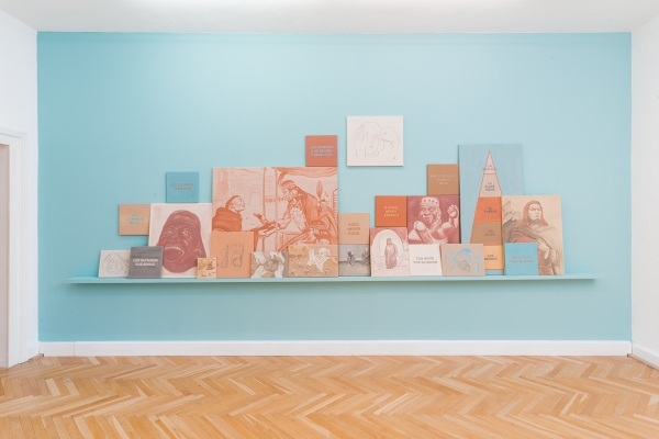 Installation view | THE FACULTY OF SENSING – Thinking With, Through,and | Braunschsweig (DE)